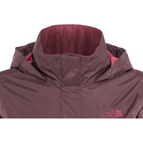 The North Face Resolve 2 Jas Dames, fig/rumba red